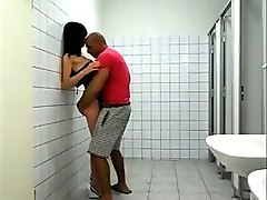hunk men caught masturbating in public toilets