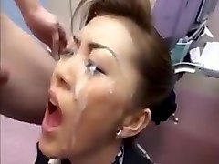 uncensored japanese mom cum in mouth